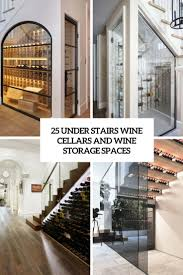 under stairs wine cellars and wine storage spaces cover
