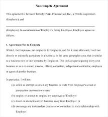 Non Compete Agreement Texas Template – Mklaw