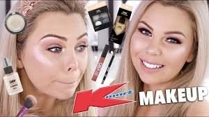 trying out kmart makeup