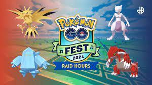 Pokemon Go Fest 2021 Raid Hour schedule ...