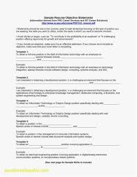 25 Career Change Resume Objective Statement Examples Free Template