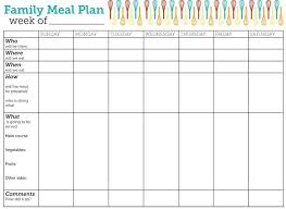 monthly meal planner template 25 unique meal plan templates ideas on pinterest menu planning