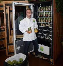 Salad Vending Machine Chicago Interesting Restaurantquality Salad From A Vending Machine New Kiosk Aims To