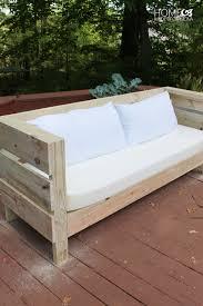 outdoor diy sofa build plans