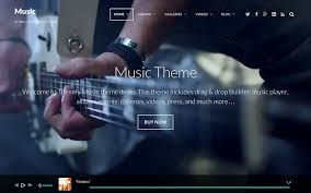 Music Website Templates Enchanting 48 Best Music WordPress Themes 48 AThemes