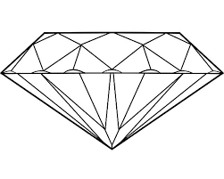 Small Picture Diamond Shape Coloring Page FunyColoring