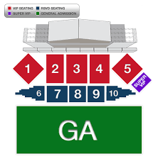Country Jam Vip Seating Chart Vip Experience Country Jam