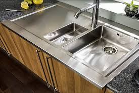 kitchen sinks for granite countertops. Astracast-bistro-15-bowl-brushed-stainless-steel-kitchen-. A Contemporary Rolltop Sink Kitchen Sinks For Granite Countertops O