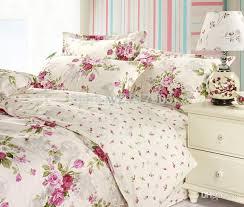 whole romantic american country style girls vintage fl bedding set elegant girls bedding set full size designer fairy bedding sets silk duvet cover