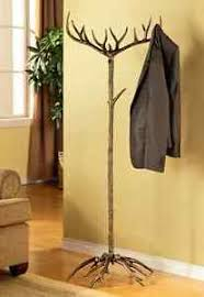 Coat And Hat Rack Stand Antler Coat Hat Rack Tree Stand Metal Rustic Deer Buck Cabin Lodge 25