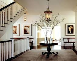 entryway round tables architecture foyer entry table regarding
