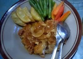 Sisi untuk dinikmati dengan steak ayam goreng: Resep Steak Ayam Crispy Tanpa Ribet Resep Dapur Mama