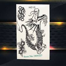 Us 042 Fashion Black Cats Temporary Tattoo Stickers Sexy Women Girls Arm Leg Decals Waterproof Body Neck Art Fake Tattoo Stickers Ph084 In