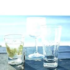 acrylic drinking glasses sets hammered set of 4 glassware home improvement contractor 8 oz training