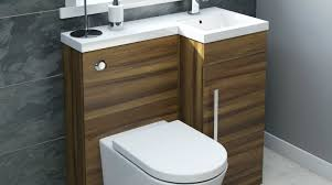 all in one space saving vanity unit toilet sink basin cloak on top vanity units small