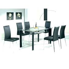 6 seater glass dining table sets seat room marvelous and chairs set black t