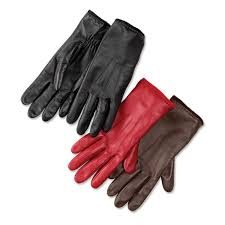 nappa leather touch screen gloves for women leather cashmere tech touch gloves orvis