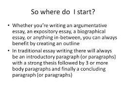 creating an outline for a biographical essay so where do i start  creating an outline for a biographical essay 2 so