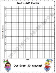 Free Daily 5 Stamina Graphs Daily 5 Reading Daily 5
