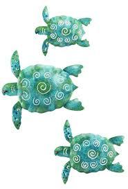 Sea Turtle Bathroom Accessories Amazoncom Regal Art Gift Sea Turtle Beach Ocean Summer Metal