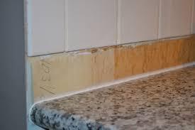 No Backsplash In Kitchen Backsplash In The Kitchen