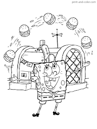 Make your world more colorful with printable coloring pages from crayola. Spongebob Squarepants Coloring Pages Print And Color Easter Printable Sheets House Christmas Gary Patrick Free Colour Birthday Oguchionyewu