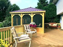 essential garden gazebo. Essential Garden Mission Creek 10 X 12 Hardtop Gazebo Canopy Gazebos Large Size Of Metal For Sale Best Cedar