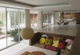 small sunken living rooms