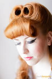pin up victory roll find this pin and more on 40s hairstyles