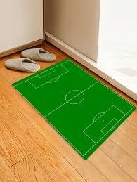 outfits world cup football field printed indoor outdoor area rug