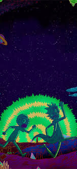 Rick And Morty HD wiki iPhone 11 Wallpapers Free Download