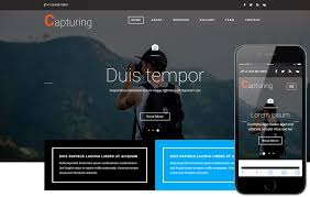 Capturing A Photo Gallery Category Bootstrap Responsive Web