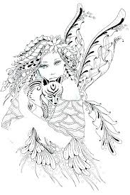 Coloring Pages Fairy Coloring Pages Fairies Teaching Page Detailed