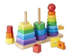 wooden geometric toy baby educational preschool toddler toys color kids blocks 666412936483