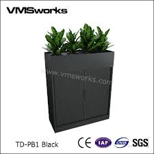 office planter. Tambour Door Cupboard And Stylish Steel Evolution Waterproof Pergola Office Decoration Planter Box Cabinet