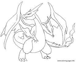 Small Picture mega pokemon y evolved pokemon charizard Coloring pages Printable