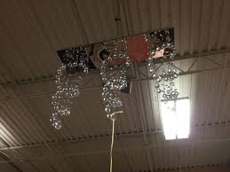 3 drop crystal chandelier chrome accent contemporary 91949b jpg