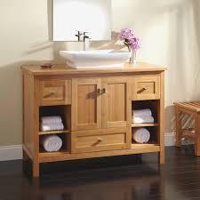 bamboo vanity bathroom. Beautiful 48\u0026quot; Alcott Bamboo Vessel Sink Vanity Bathroom B