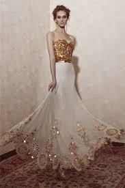 14 gorgeous white and gold wedding dress getfashionideas com