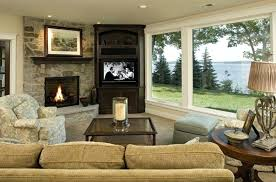 stone fireplace design ideas for living room living rooms with stone fireplaces cozy dark fabric sectional