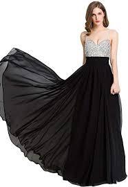 Beauty-Emily Long Prom Dresses 2018 Beaded ... - Amazon.com