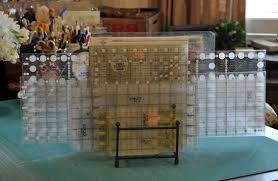 More Studio Organization Tips and Guest Carrie Nelson - Quilting ... & I've also got an old wire letter holder that holds small rulers. I use a  metal plate/file rack for my rulers. (I've used those wooden ruler racks  with the ... Adamdwight.com