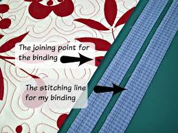 Easy trick to perfectly join quilt binding - So Sew Easy & how to join quilt binding Adamdwight.com