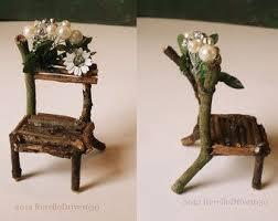 furniture fairy. diy fairy furniture