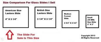 china magic lantern glass slide