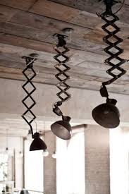 unusual ceiling lighting. industrialu2014unusual pendant lighting and reclaimed wood ceiling unusual e