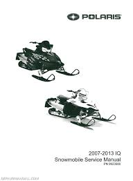 2007 2013 polaris iq snowmobile service manual repair manuals online 2007 2013 polaris iq snowmobile service manual