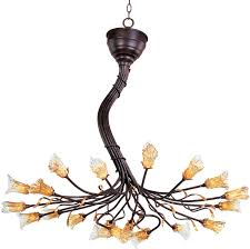 et2s nature inspired evolution chandelier is like a bouquet of for contemporary residence art nouveau chandelier prepare