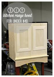 diy kitchen range hood