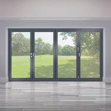 origin bi fold door up to 4m in grey